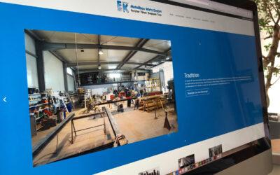 Neue Website ist online.